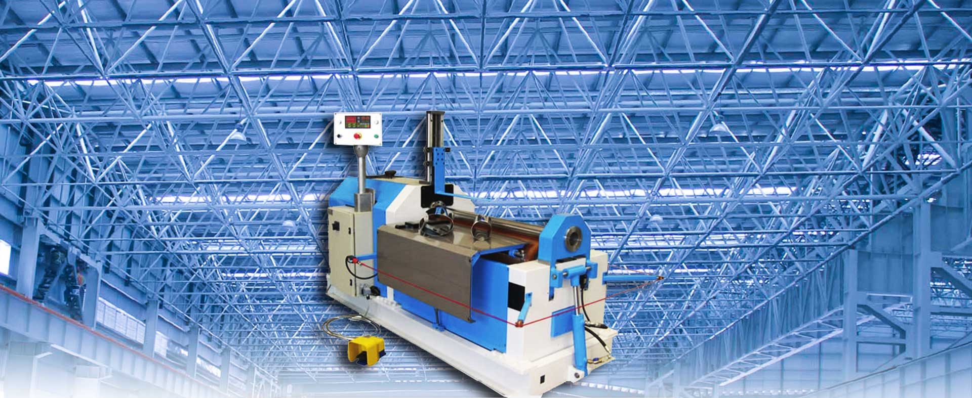 2 Roll Urethane Plate Bending Machine