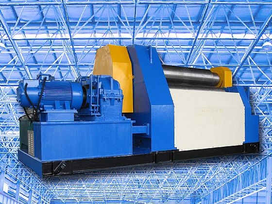 Plate Bending Machine, Plate Rolling Machine