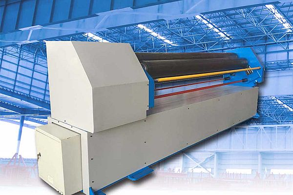 Three roll plate bending machine