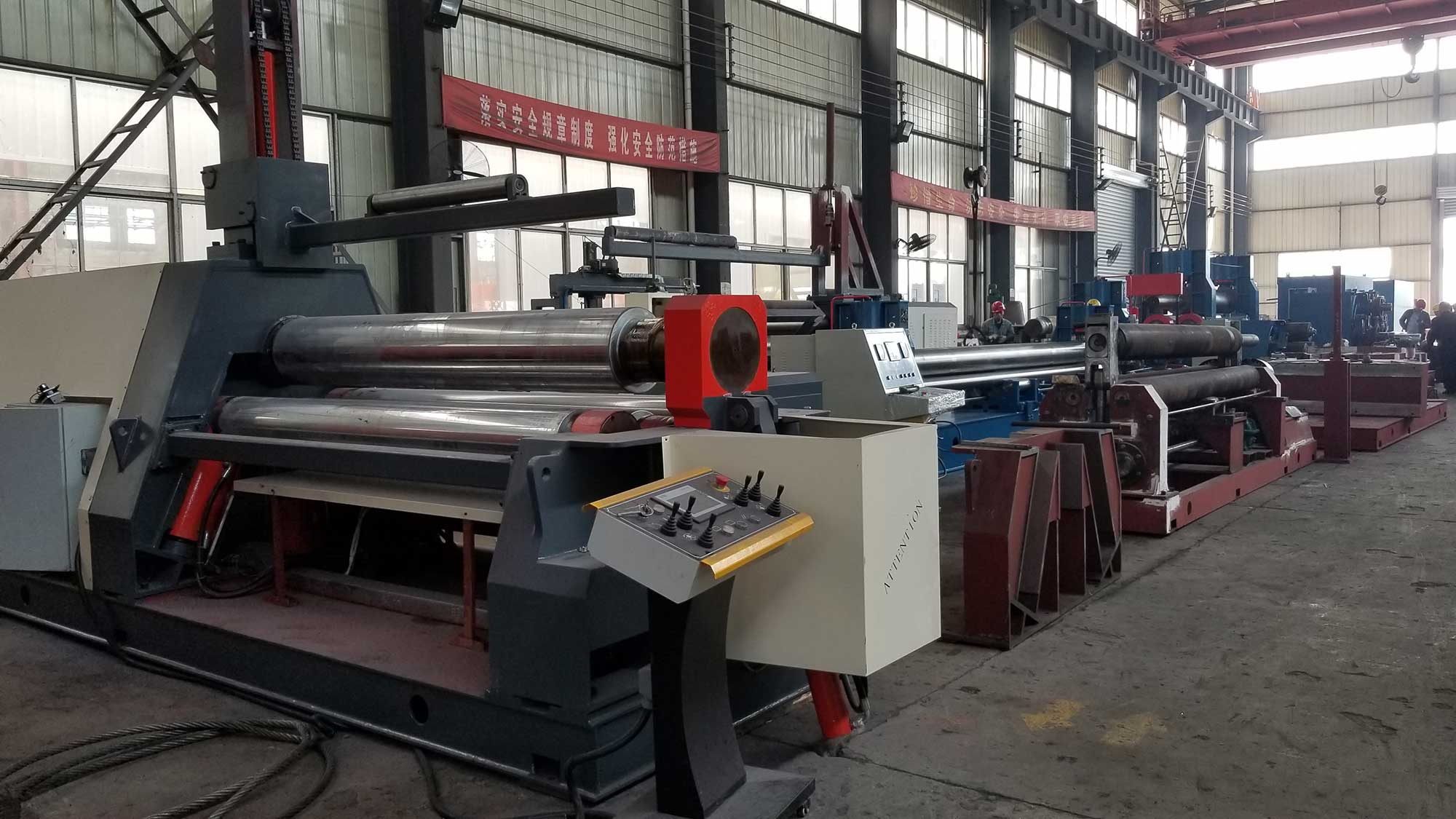 plate roller manufacture