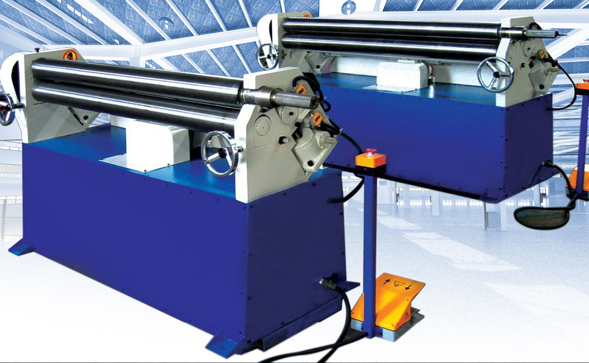three roller bending machine